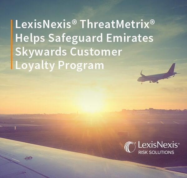 ThreatMetrix Protects Emirates Skywards